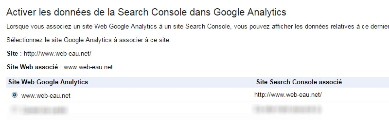 Google Analytics Google Search Console